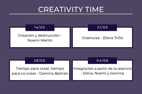 Creativity Time Programa Womens