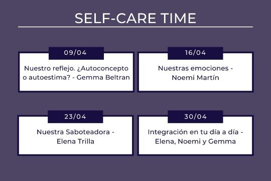 Self-Care Time Programa Womens