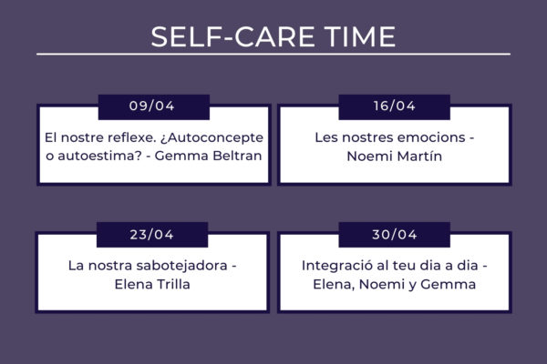 Self-Care Time - Women's Time CAT